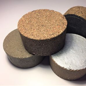 erosion and dust resistant pucks